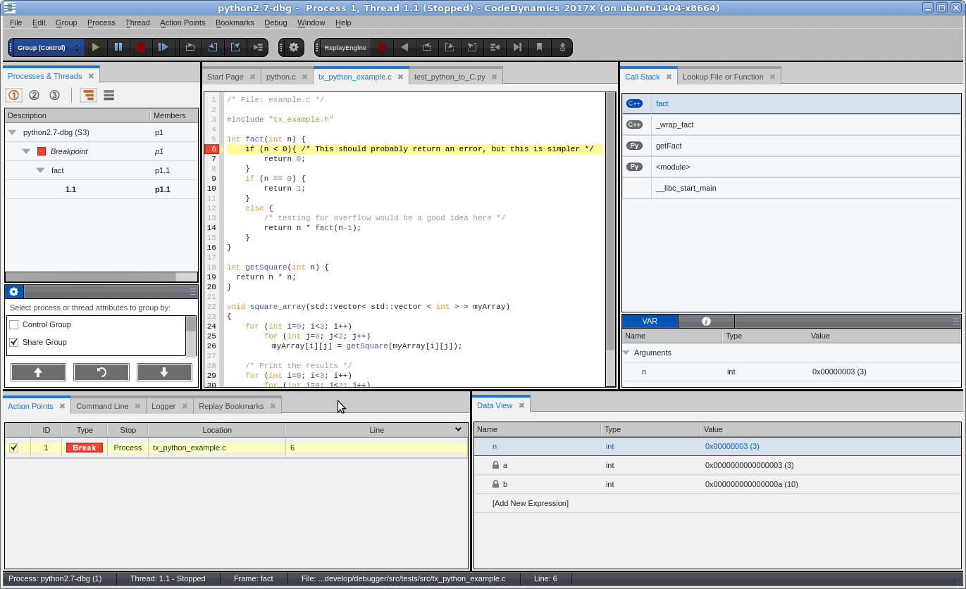 Python and C/C++ debugging   Rogue Wave