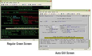 RogueWave HostAccess Screenshot