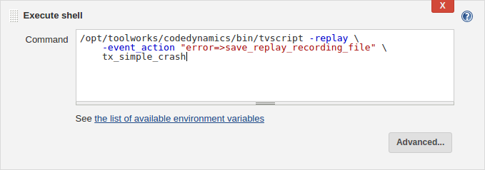 Finding test failures in Jenkins CI by replaying test