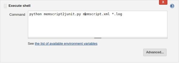 Jenkins workspace directory