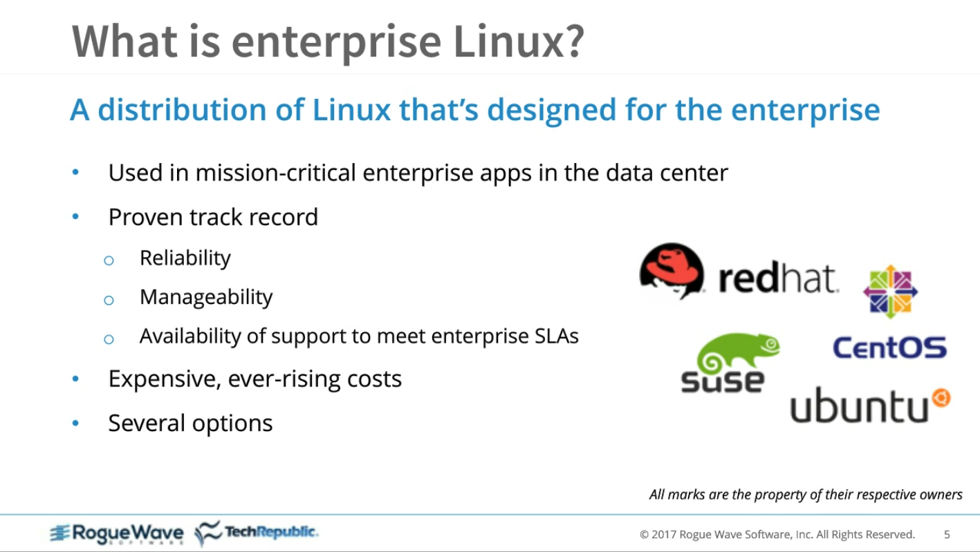 On-Demand Webinar: Enterprise Linux: Justify your migration from Red